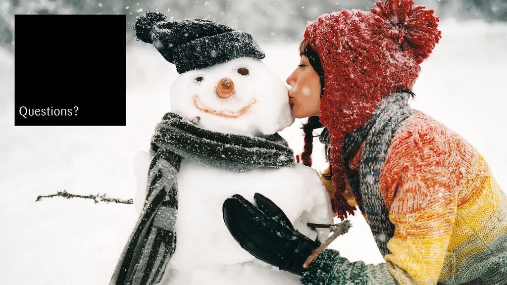 snowflake | T3CON12 Stuttgart, 30.09.13 28 Ques...