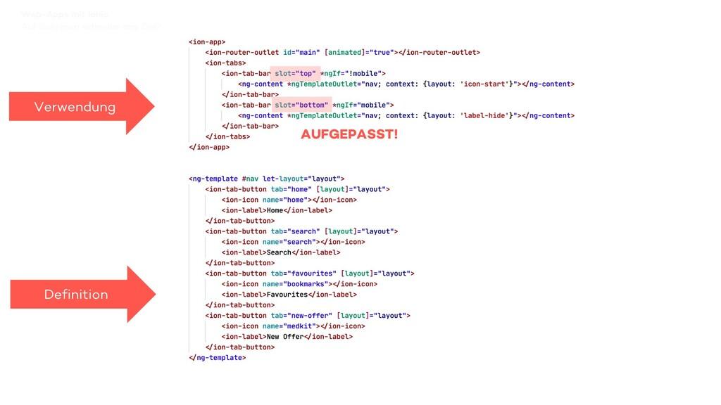 Auf Schienen schneller ans Ziel? Web-Apps mit I...