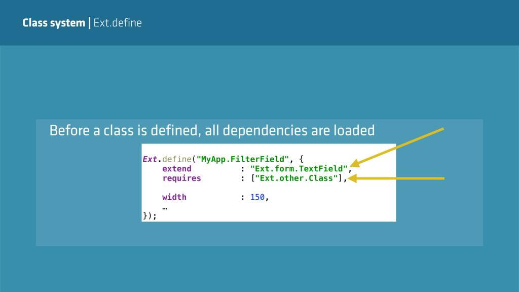 "Class system   Ext.define Ext.define(""MyApp.Fil..."