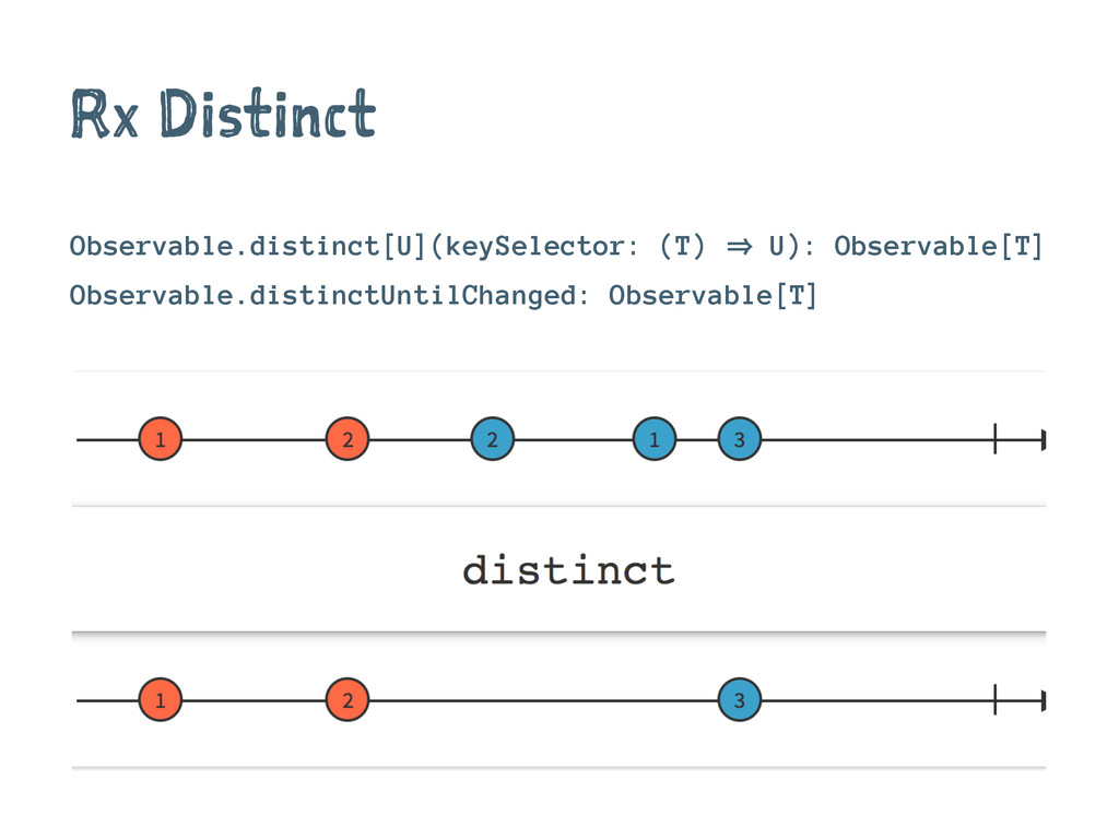 Rx Distinct Observable.distinct[U](keySelector:...