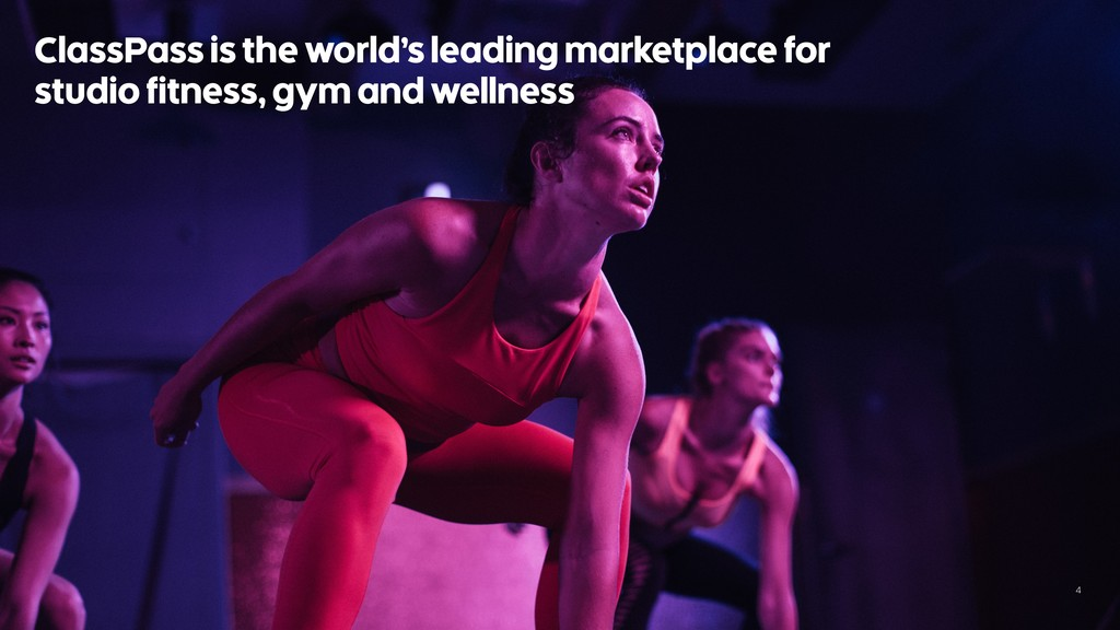 4 ClassPass is the world's leading marketplace ...