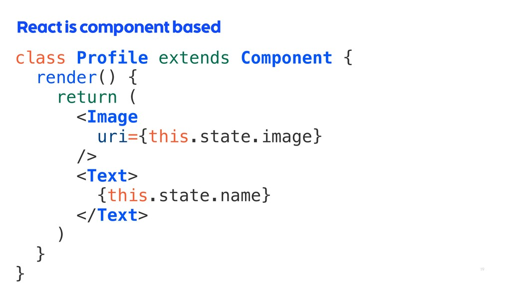 class Profile extends Component { render() { re...