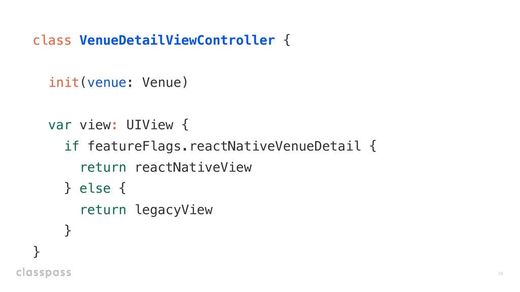 class VenueDetailViewController { init(venue: V...