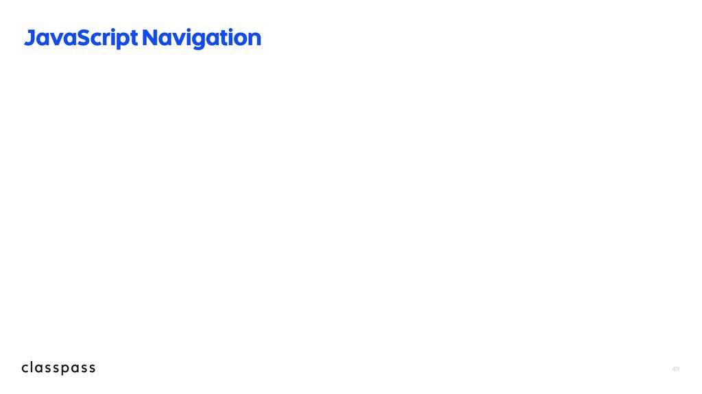 JavaScript Navigation 49