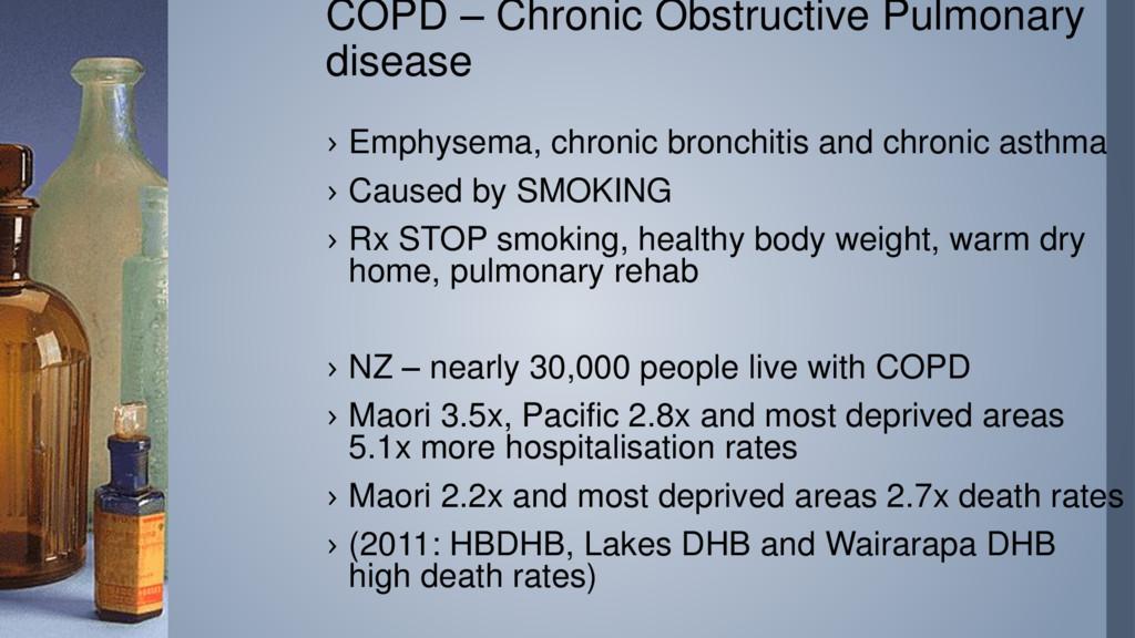 COPD – Chronic Obstructive Pulmonary disease › ...