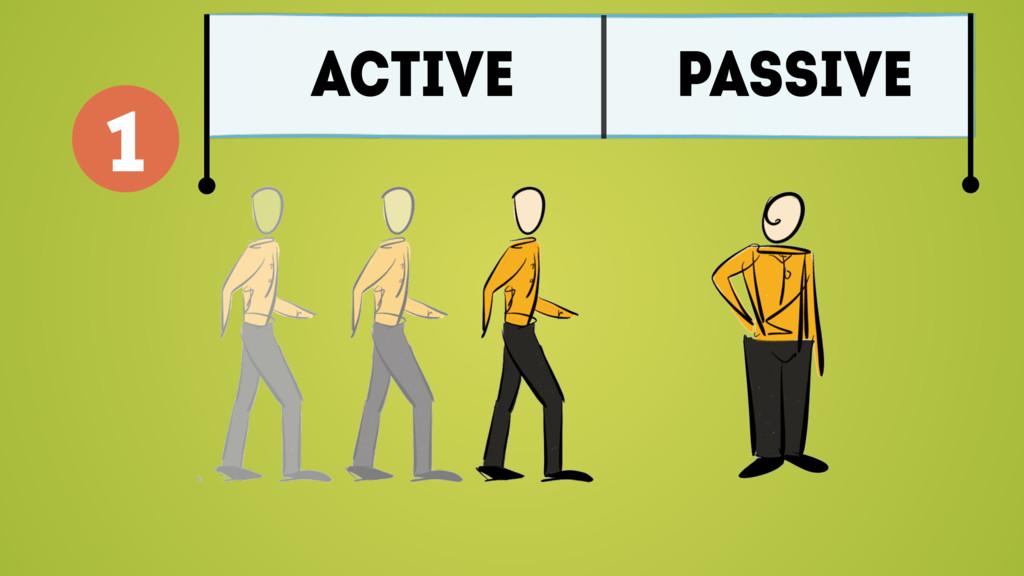 ACTIVE PASSIVE 1