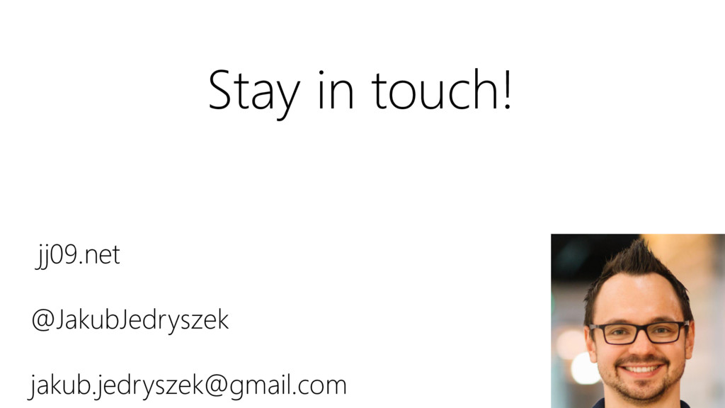 jj09.net @JakubJedryszek jakub.jedryszek@gmail....