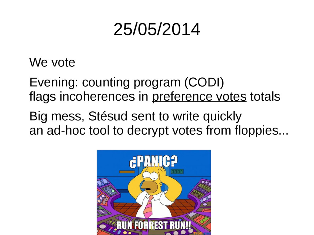 25/05/2014 We vote Evening: counting program (C...
