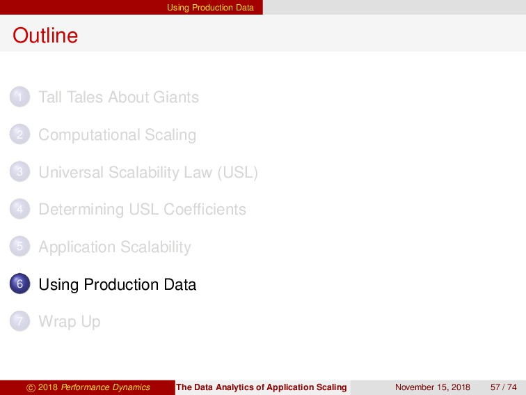 Using Production Data Outline 1 Tall Tales Abou...
