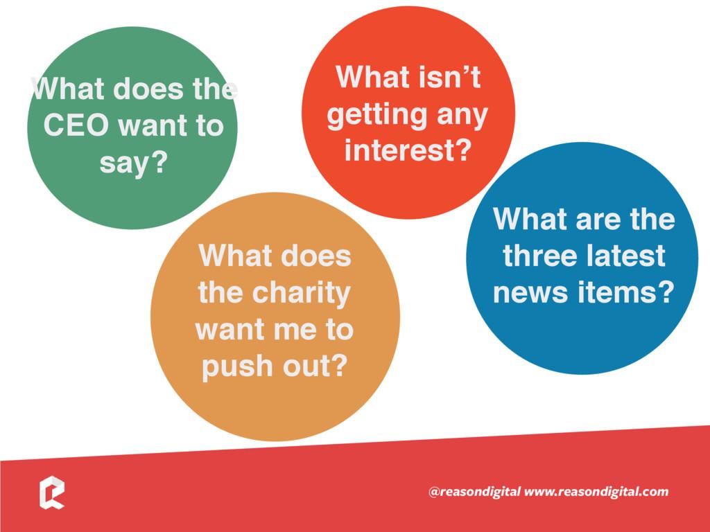 www.reasondigital.com @reasondigital What does ...