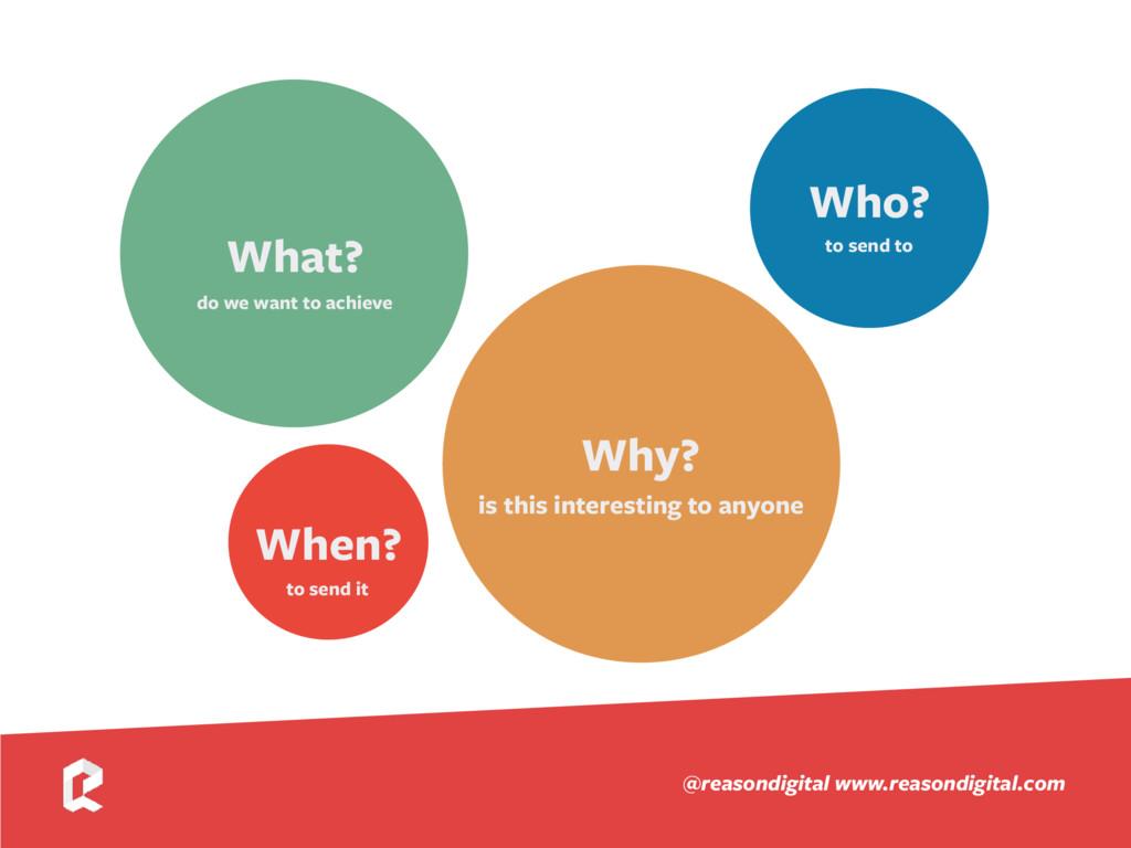 www.reasondigital.com @reasondigital Who? to se...