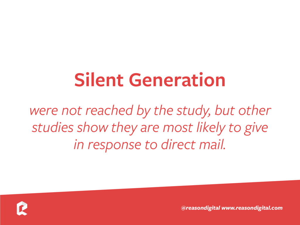 www.reasondigital.com @reasondigital Silent Gen...