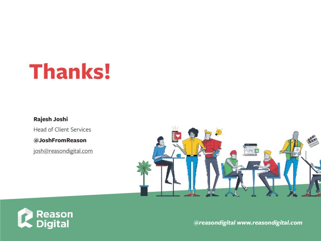 www.reasondigital.com @reasondigital Thanks! Ra...