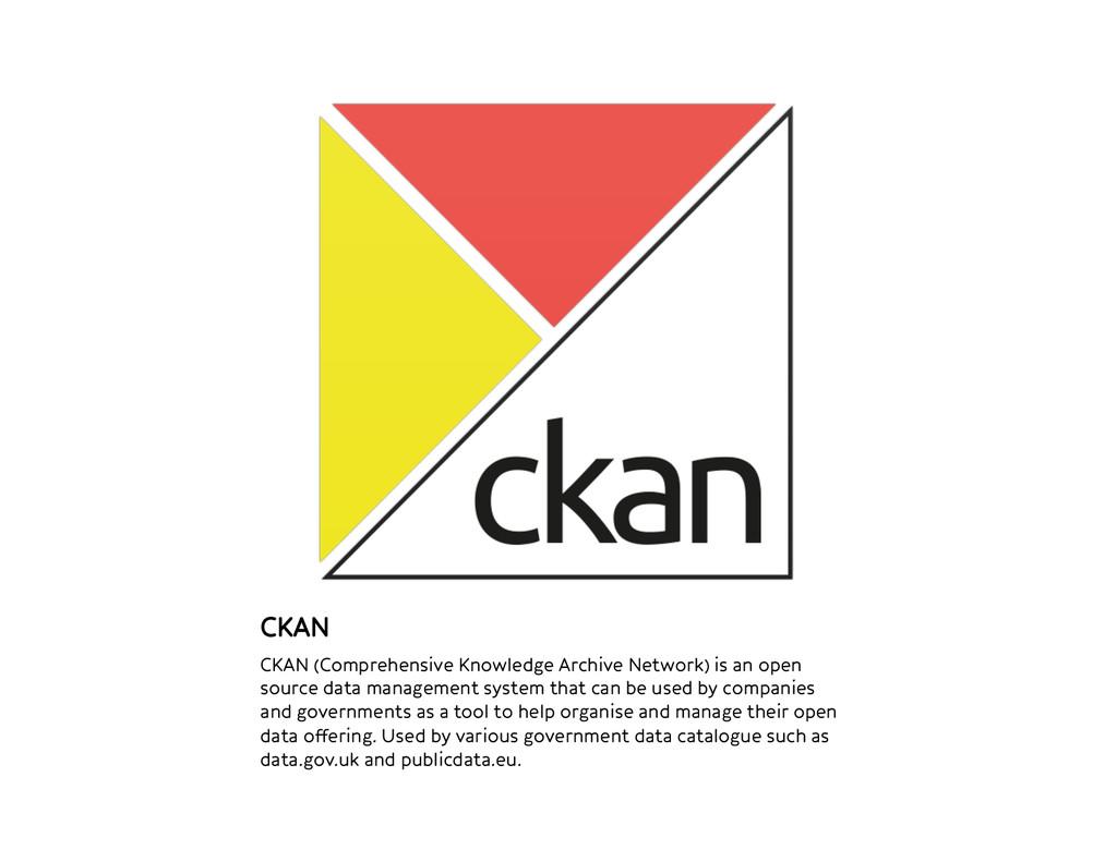 CKAN CKAN (Comprehensive Knowledge Archive Net...
