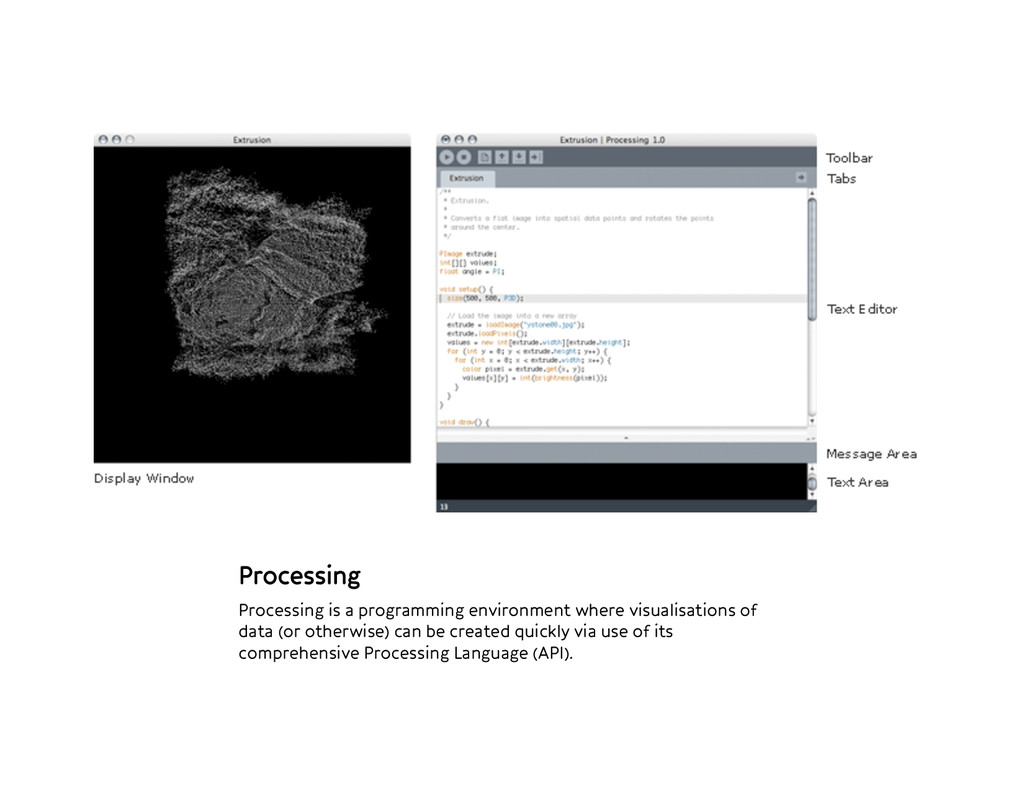 Processing Processing is a programming environ...