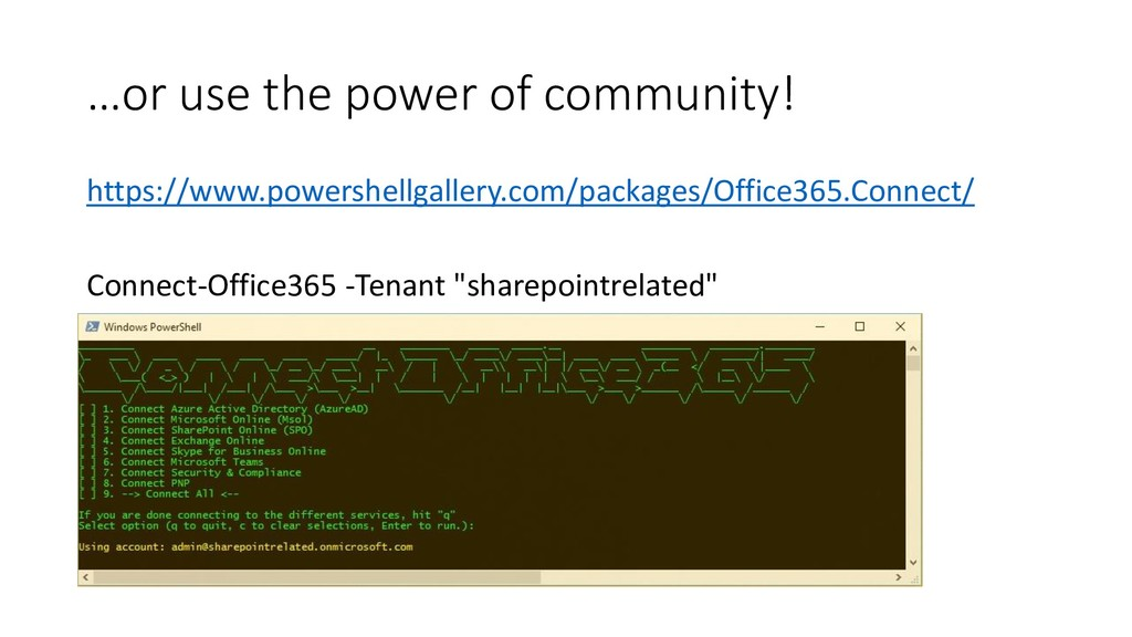 …or use the power of community! https://www.pow...