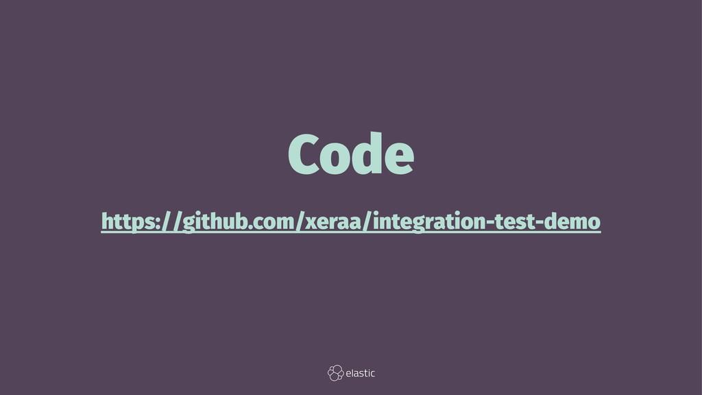 Code https://github.com/xeraa/integration-test-...
