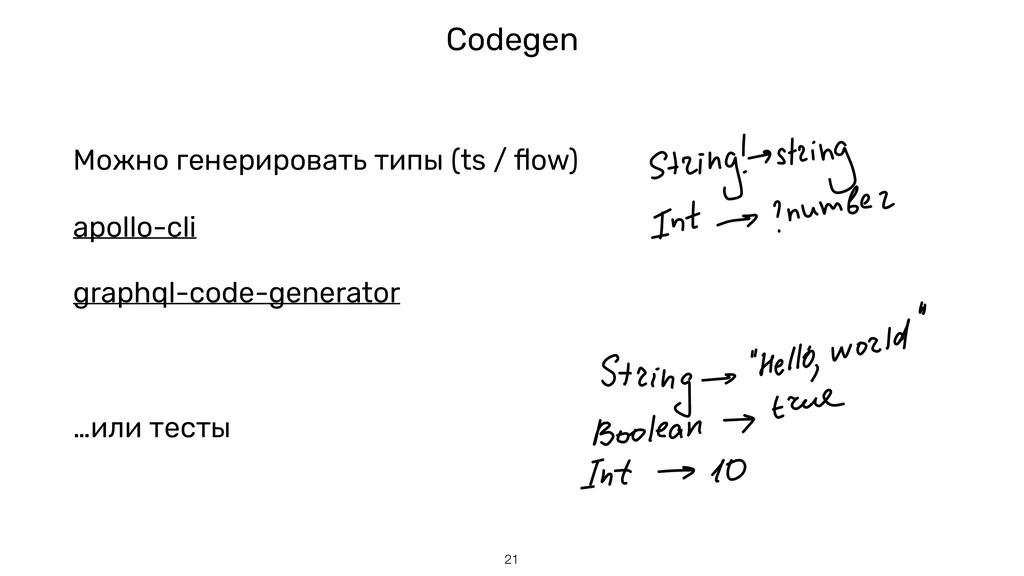 Codegen !21 apollo-cli graphql-code-generator М...