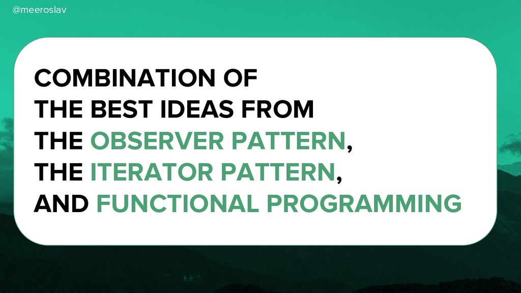 @meeroslav COMBINATION OF THE BEST IDEAS FROM T...
