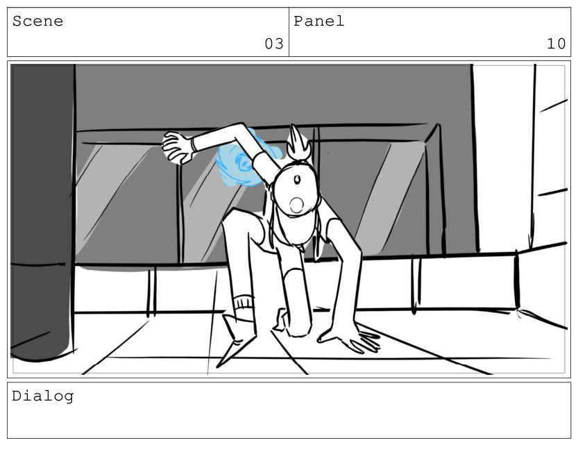 Scene 03 Panel 11 Dialog KIM: Phew.