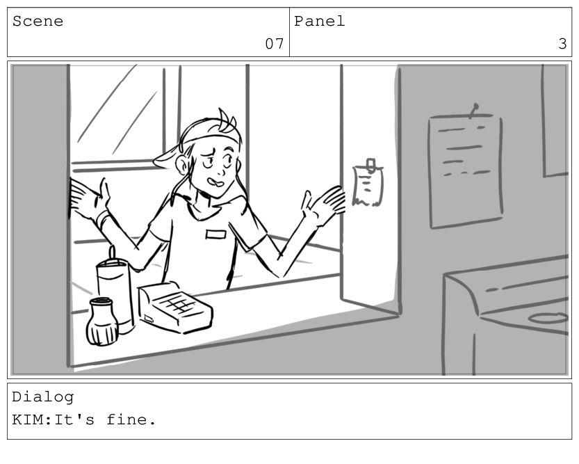 Scene 07 Panel 4 Dialog BOSS: Still.