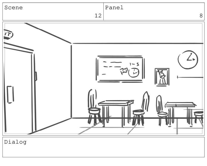 Scene 13 Panel 1 Dialog