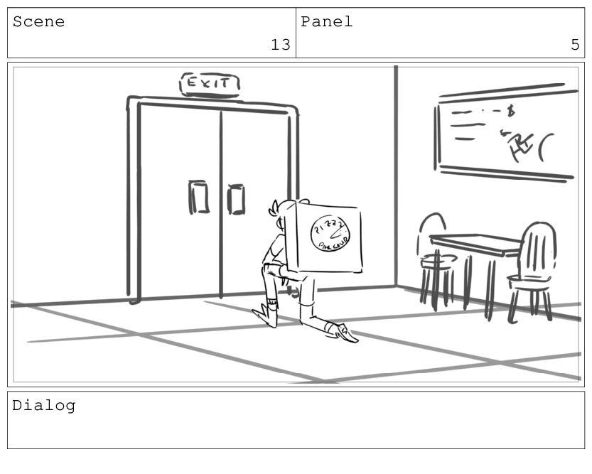 Scene 13 Panel 6 Dialog