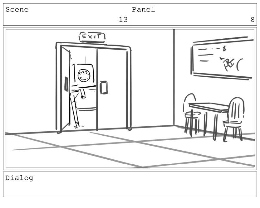 Scene 13 Panel 9 Dialog