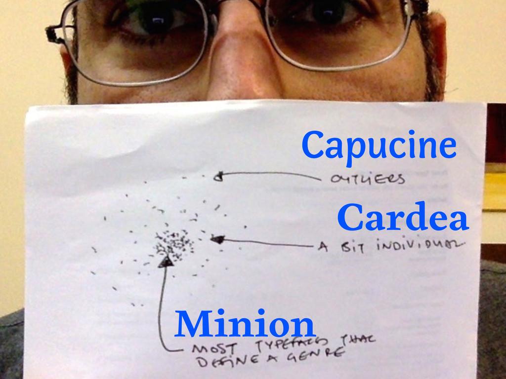 Cardea Minion Capucine