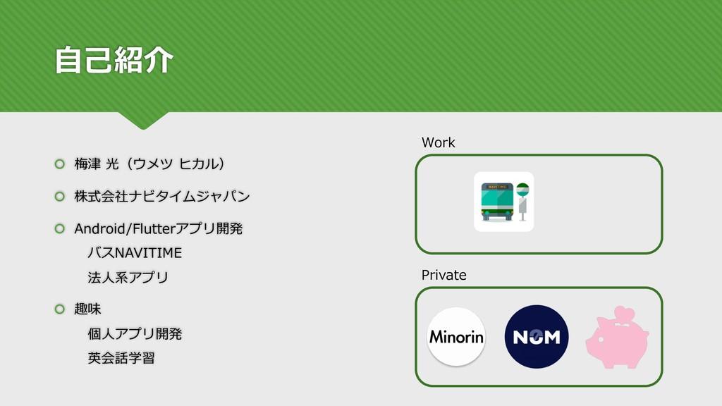 ⾃⼰紹介 š 梅津 光(ウメツ ヒカル) š 株式会社ナビタイムジャパン š Android/...