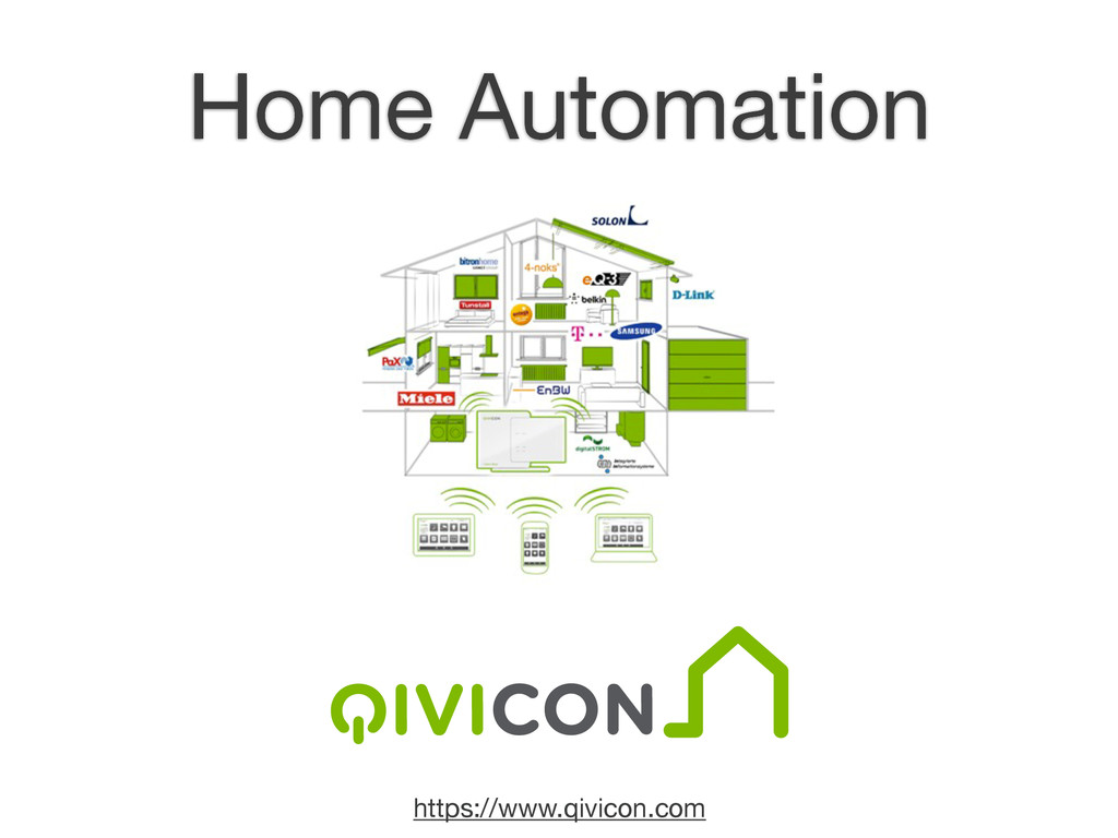 https://www.qivicon.com Home Automation