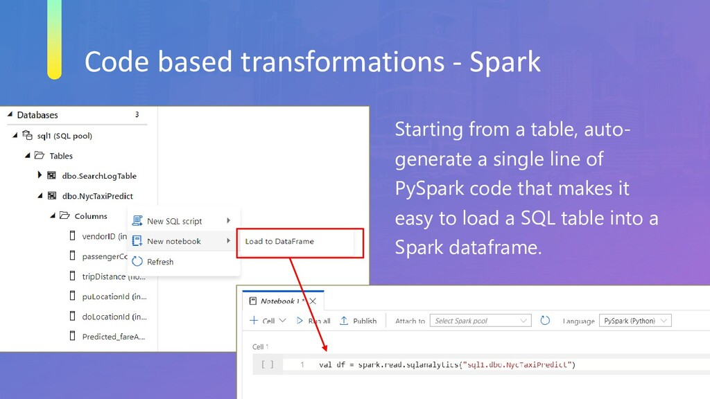 Code based transformations - Spark Starting fro...