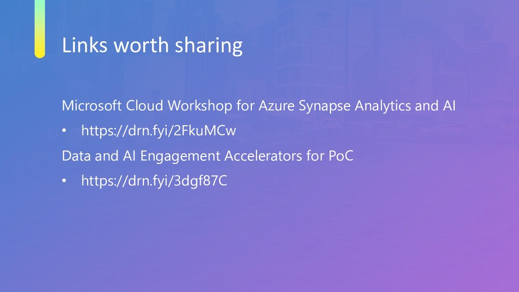 Links worth sharing Microsoft Cloud Workshop fo...