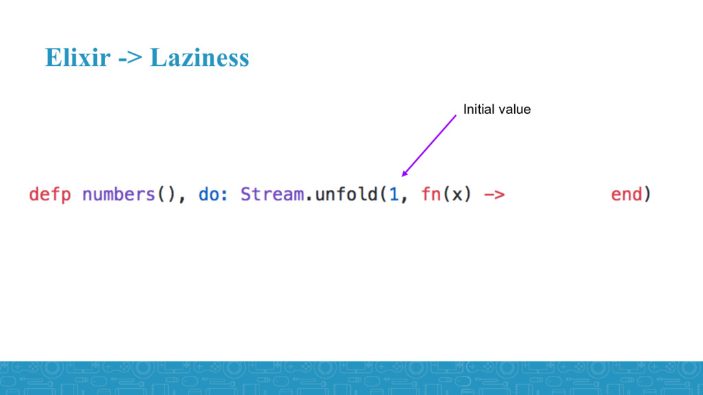 Elixir -> Laziness Initial value