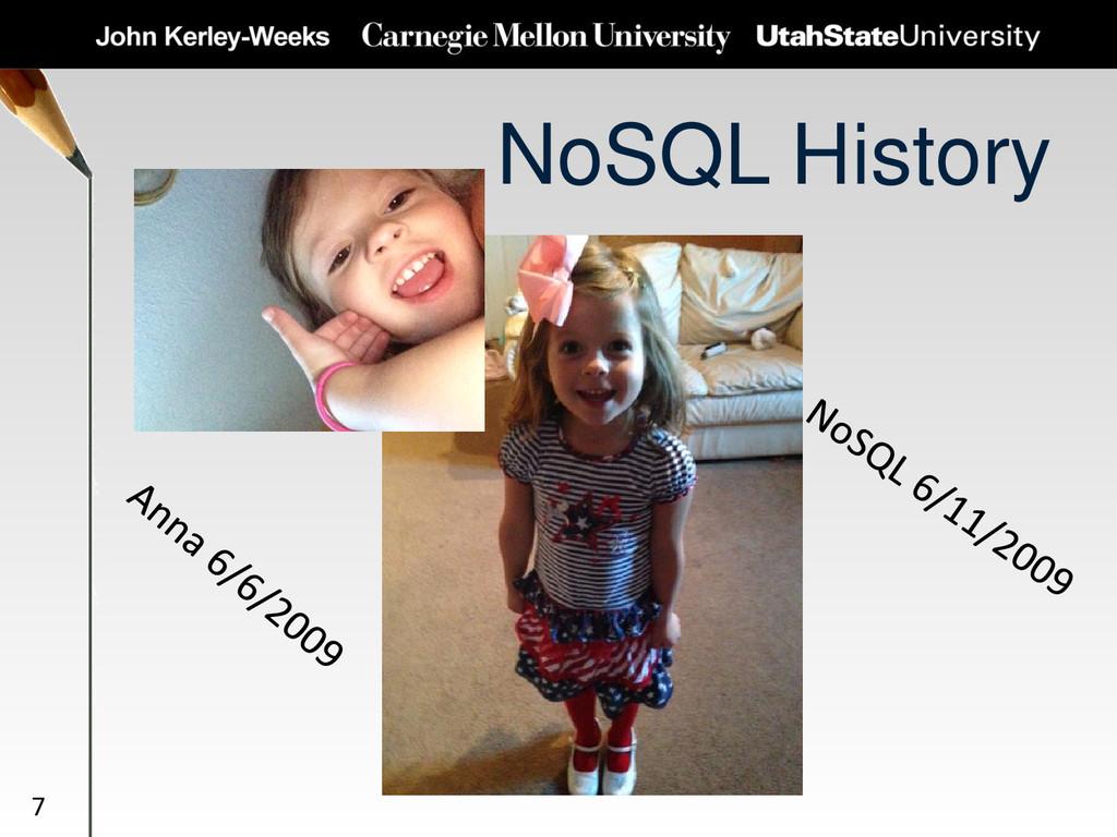 NoSQL History 7