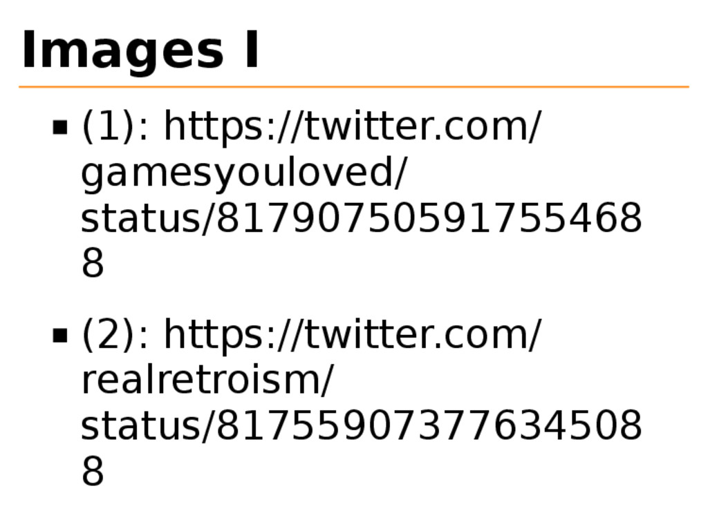 Images I (1): https://twitter.com/ gamesyoulove...