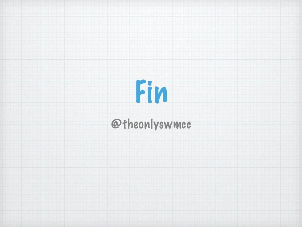 Fin @theonlyswmcc