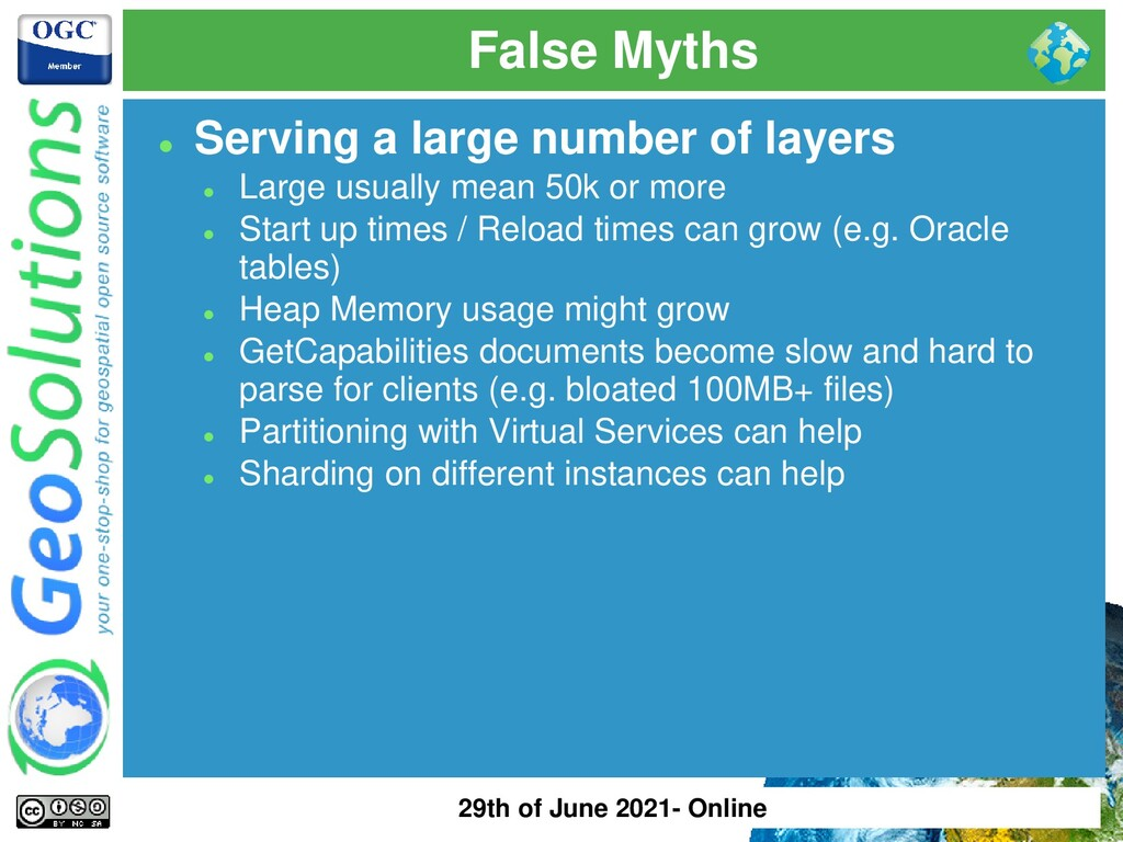 False Myths ⚫ Serving a large number of layers ...