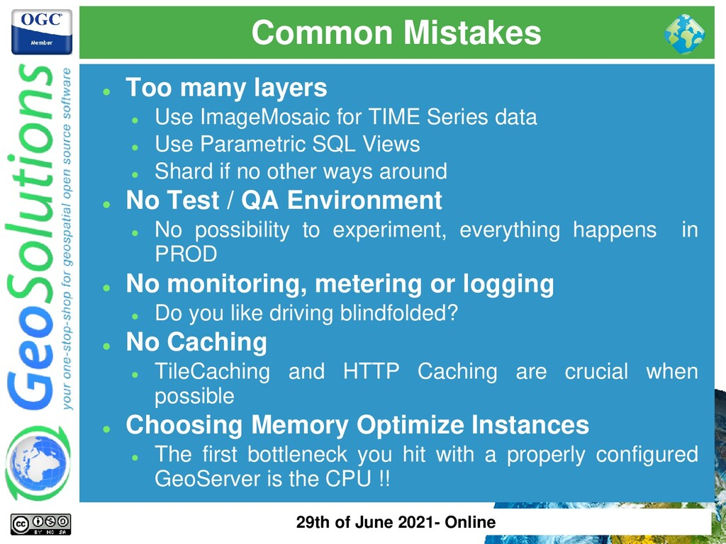 Common Mistakes ⚫ Too many layers ⚫ Use ImageMo...