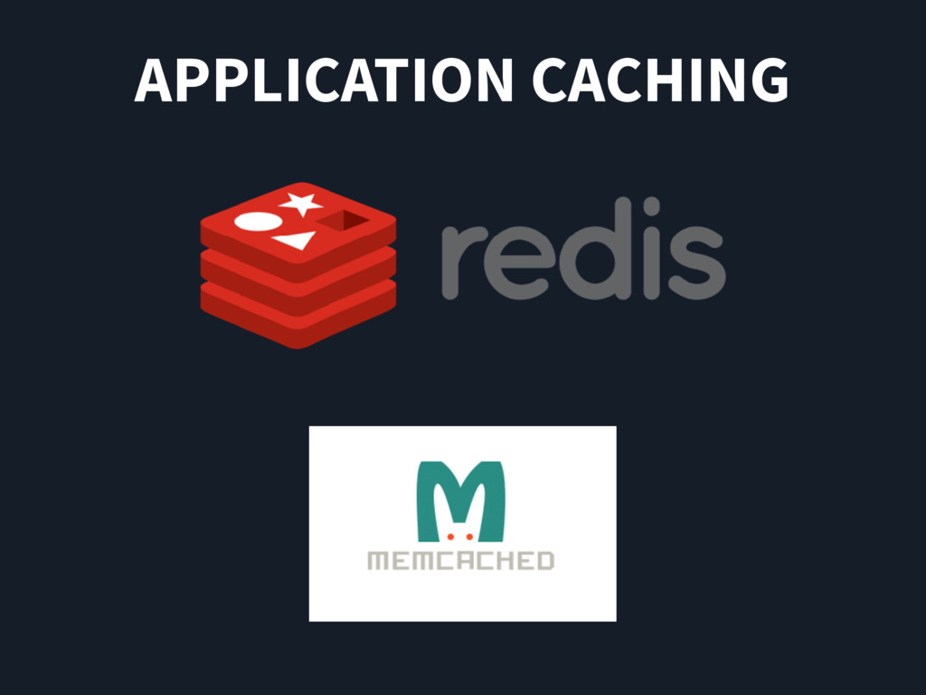 APPLICATION CACHING