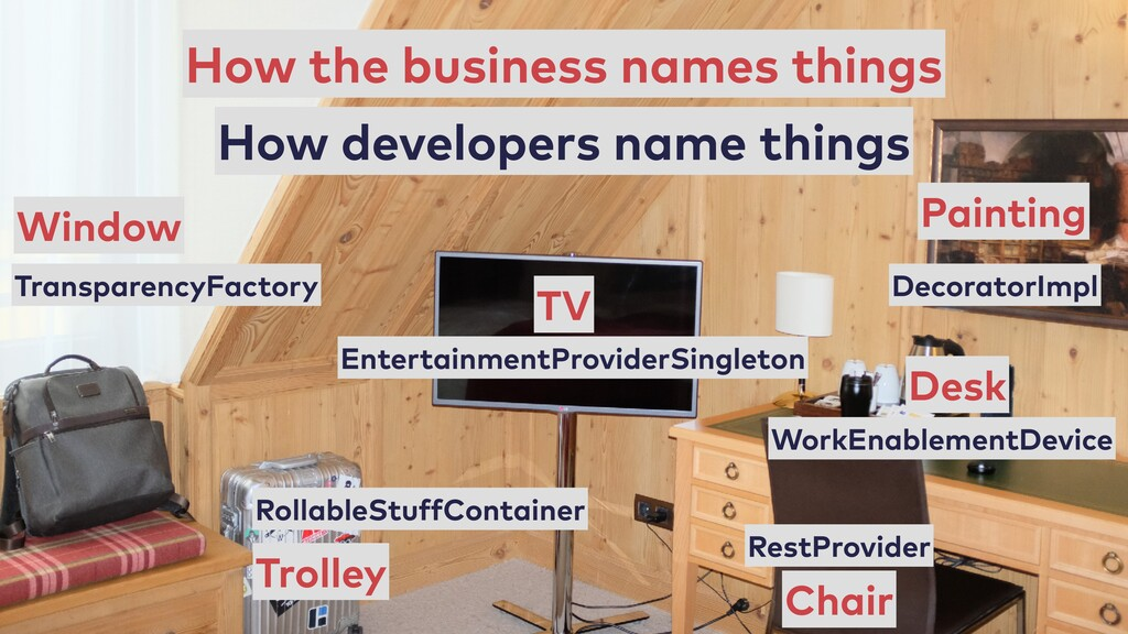 How the business names things TV Window Chair T...