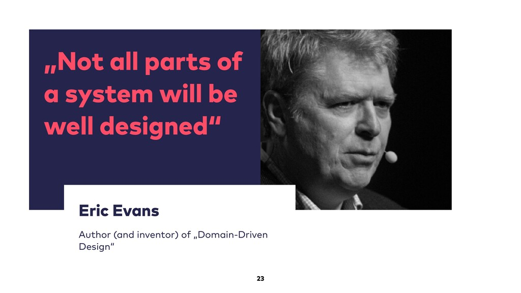 """""""Not all parts of a system will be well designe..."""