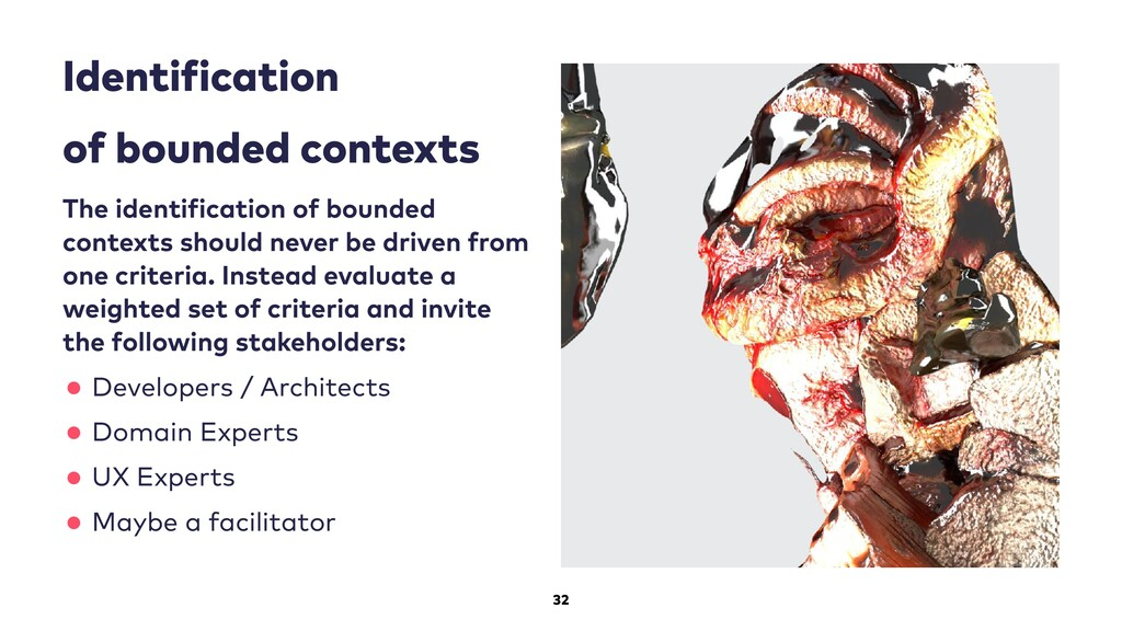 32 Identi ication of bounded contexts The ident...