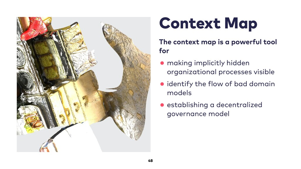 48 Context Map The context map is a powerful to...