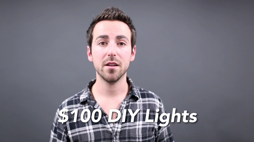 $100 DIY Lights
