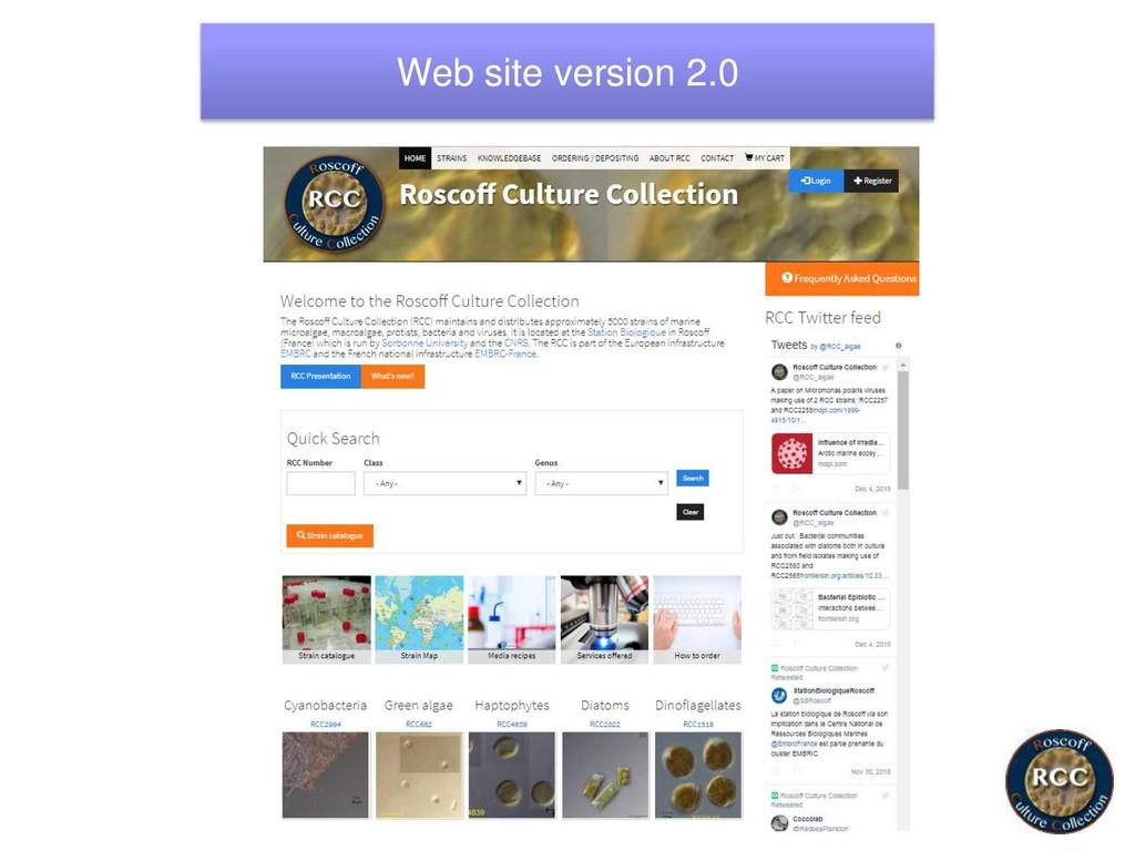 Web site version 2.0