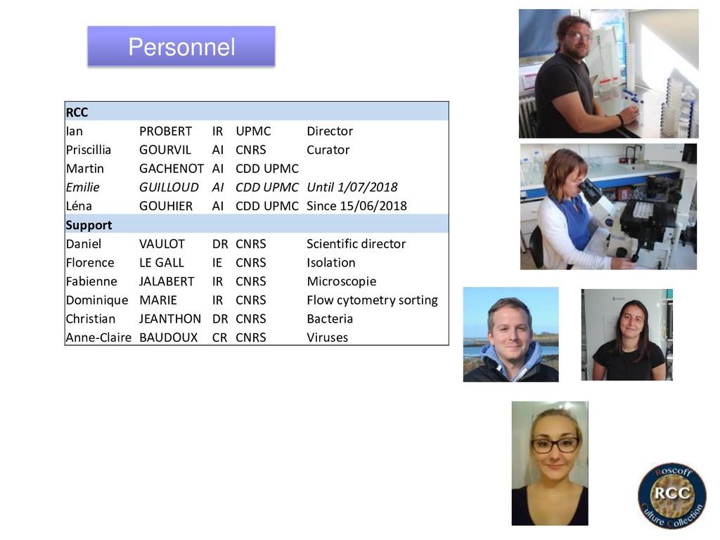 Personnel RCC Ian PROBERT IR UPMC Director Pris...