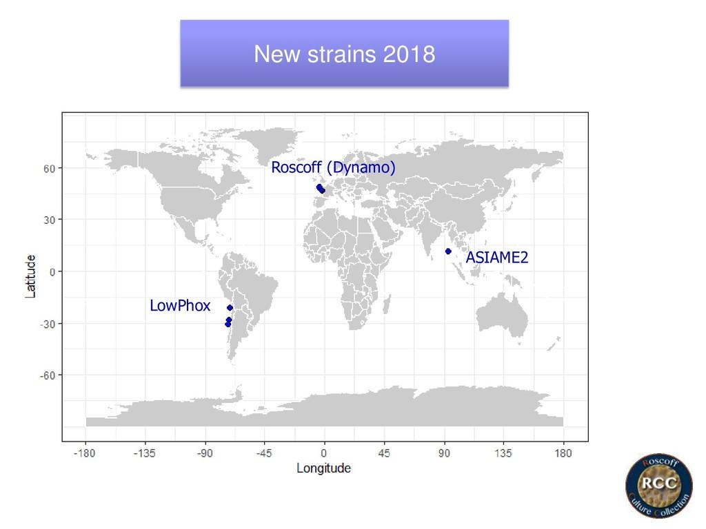 New strains 2018 ASIAME2 Roscoff (Dynamo) LowPh...