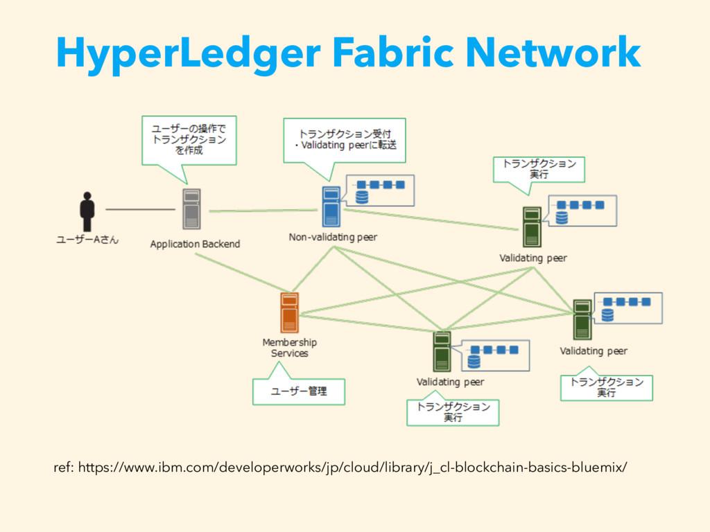 HyperLedger Fabric Network ref: https://www.ibm...
