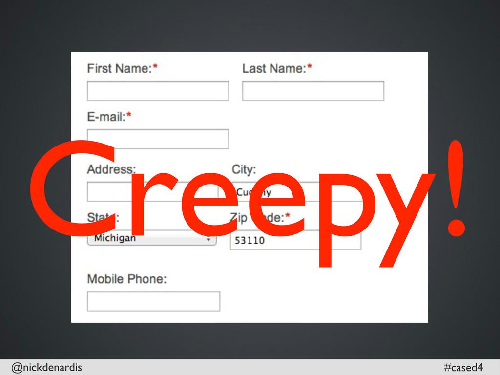 @nickdenardis #cased4 Creepy!